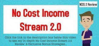 No Cost Income Stream Blueprint Review