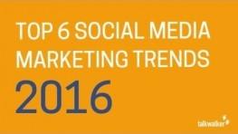 Top Six Social Media Marketing Trends : Experts' View