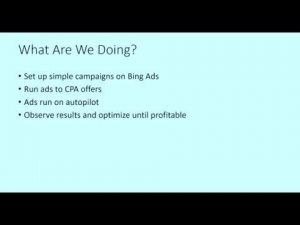 How To Promote CPA Offers With Bing Ads - ِCPA OFFERS - FREE COURSE, This is a Course about CPA Offers With Bing Ads, http://myonlinebiz4u2.com/, Our proven & tested strategy that generates $60 - $100 in CPA profits per day, Learn how to use Bing Ads to promote CPA offers, http://myonlinebiz4u2.com/, Learn How To Promote CPA Offers With Bing Ads and start to make money online,