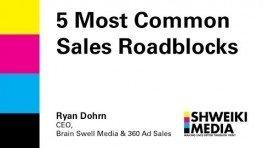 5 Most Common Sales Roadblocks