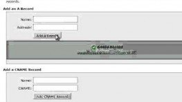 Creating CNAME Records in cPanel