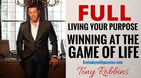 Robbins Purpose Winning – Living Your Purpose