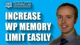 WordPress Memory Limit Increase   WP Learning