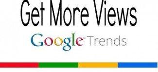 Google Trends Keywords = Get More Youtube Views
