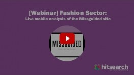 Fashion Sector Missguided LIVE Mobile Analysis
