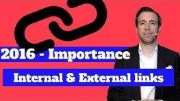 Internal / External Links : Links Are Important