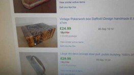 Selling Antiques Collectors Items – Ebay Sales Report