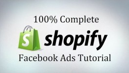Complete Shopify Training Facebook Ads Tutorial For Facebook Marketing