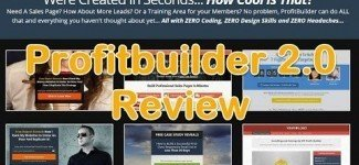 Profitbuilder 2.0 demo 2017 – Build all the lead pages you can imagine with Zero coding …
