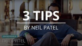 3 Tips Rapid Growth – Neil Patel Shares Three Tips